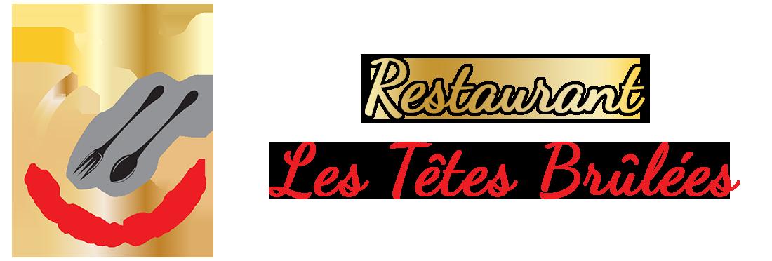 Restaurant Les Têtes Brûlées nouveau logo 2020