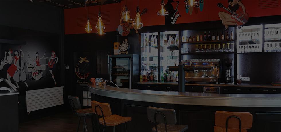Restaurant Les têtes Brûlées nouveau bar